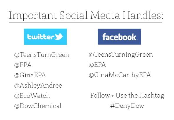 EPA Social Media Handles Graphic Blog