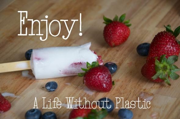 Popsicle Enjoy!